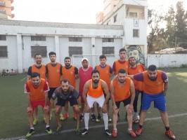 مبارات ودية بين نادي شهداء جنين ومجموعه من المخيم