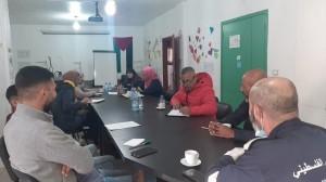 لقاء الجمعيات والمؤسسات في مخيم البرج الشمالي حول فيروس كورونا