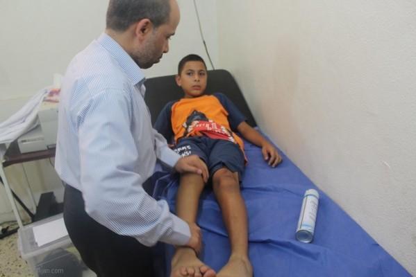 اليوم الصحي بمخيم البداوي (الشمال)