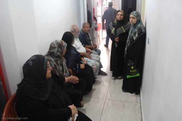 بالصوراليوم الصحي في  مستشفى الجليل بمخيم البرج الشمالي