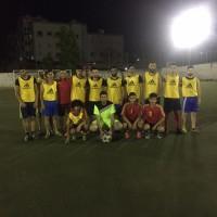 مباراة بين نادي شهداء جنين ونادي الشبيبة في مخيم البداوي