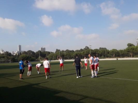 مباراة ودية بين نادي شهداء الأقصى ونادي الجليل